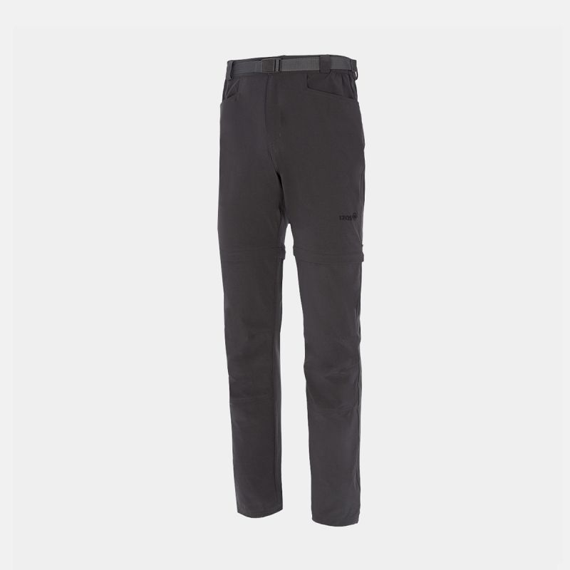 MAN TREKKING PANTS GRANI II GREY