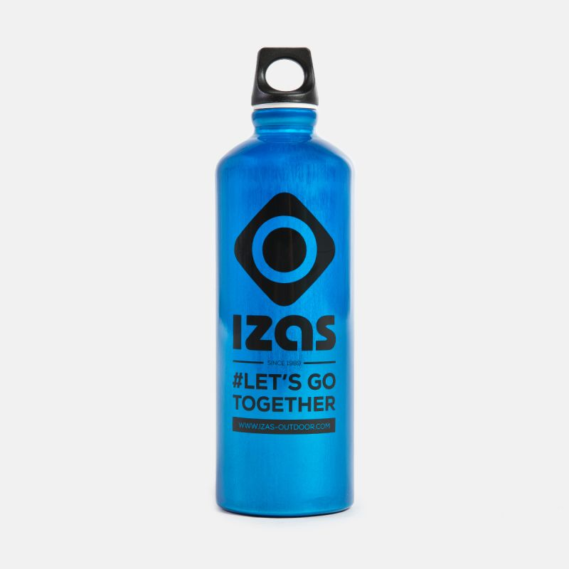 BLUE ALUMINIUM BOTTLE WHITBY 0.75L