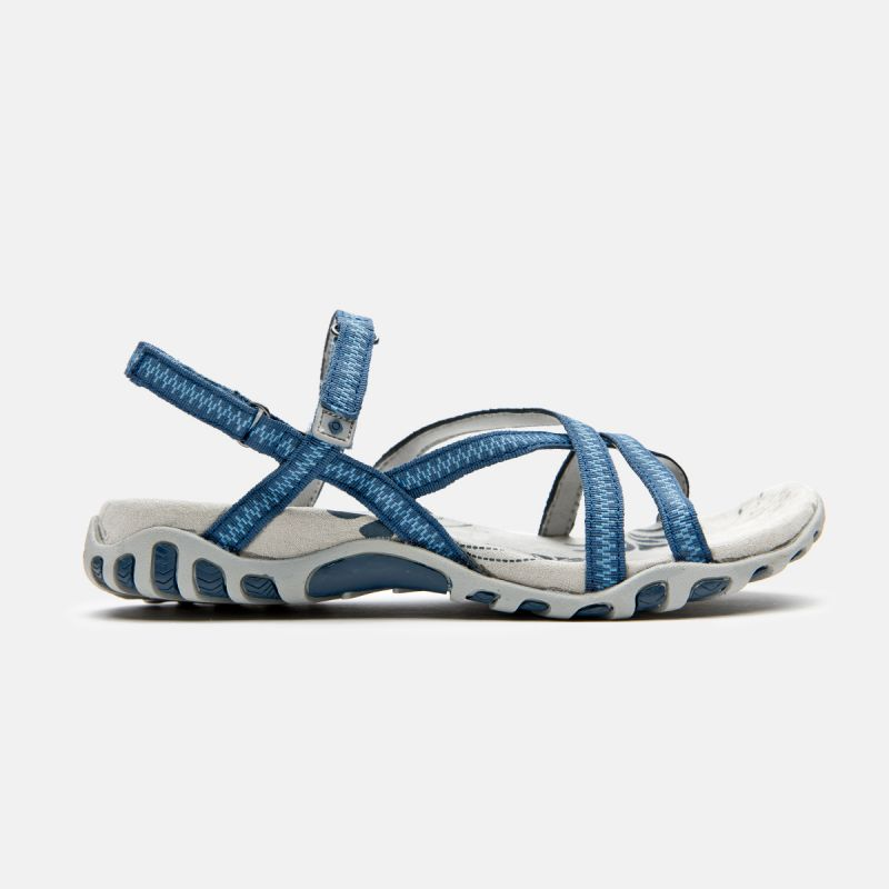 WOMAN SANDALS TENA BLUE