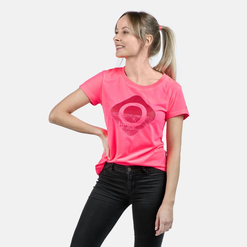 WOMAN T-SHIRT CAROLINA PINK
