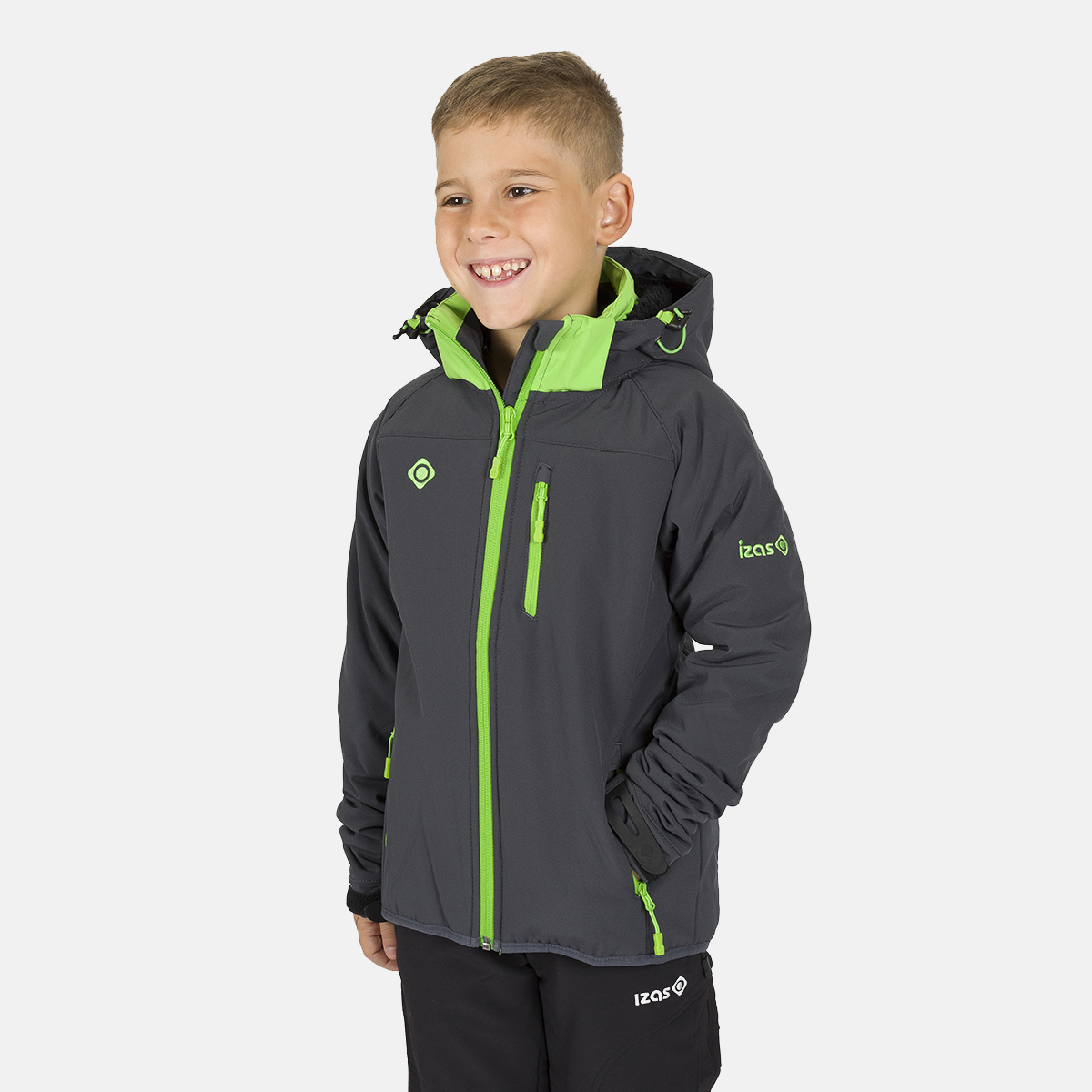 MINTO KIDS SOFT SHELL GREY