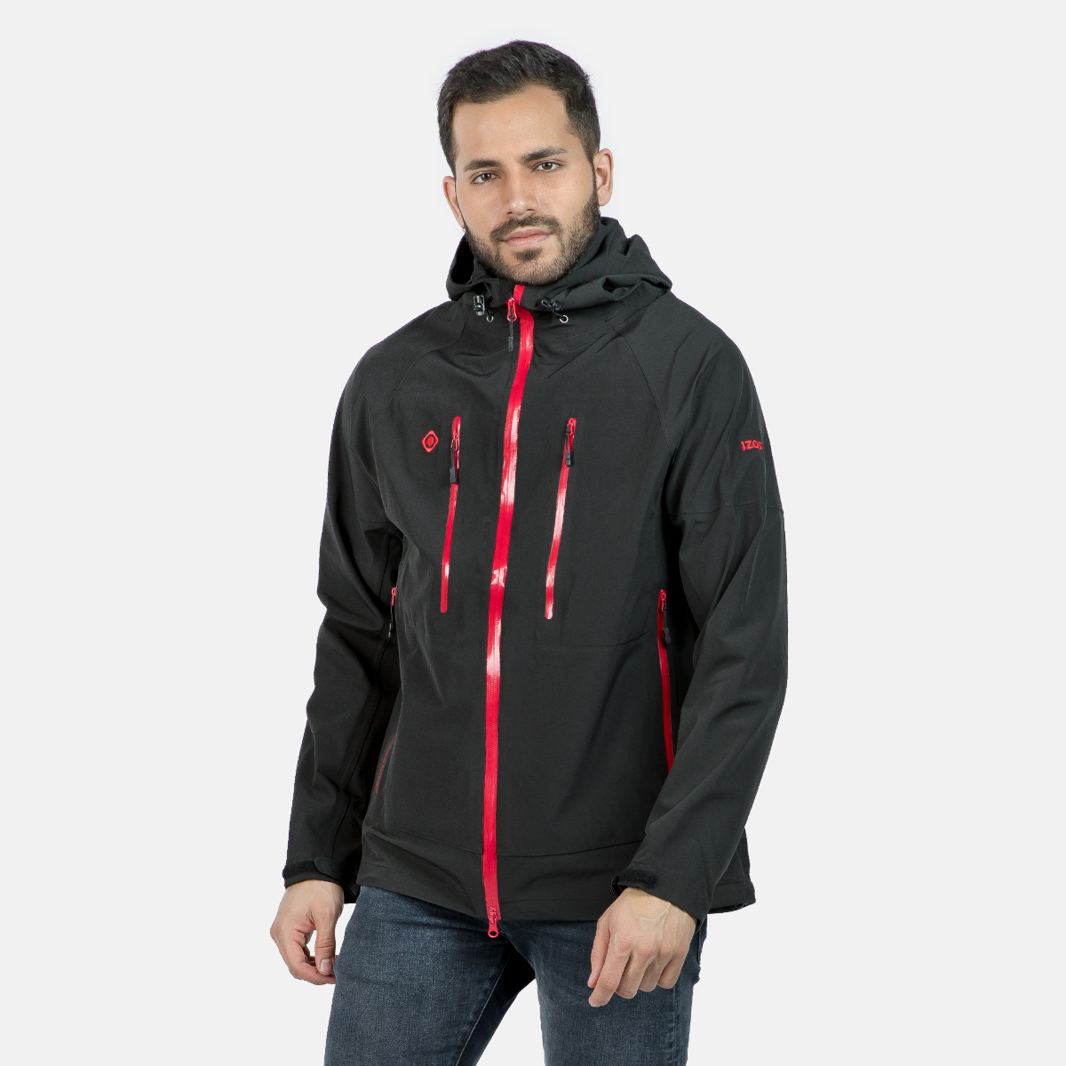 MAN'S CAVOUR SHELL JACKET BLACK