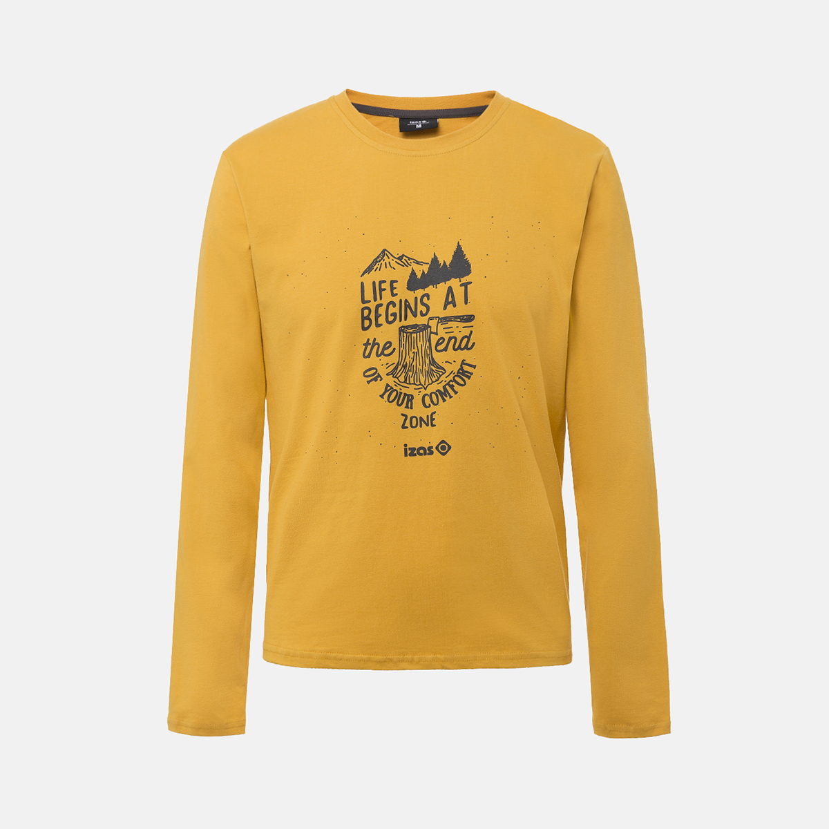 MAN'S AROSA T-SHIRT COTTON YELLOW