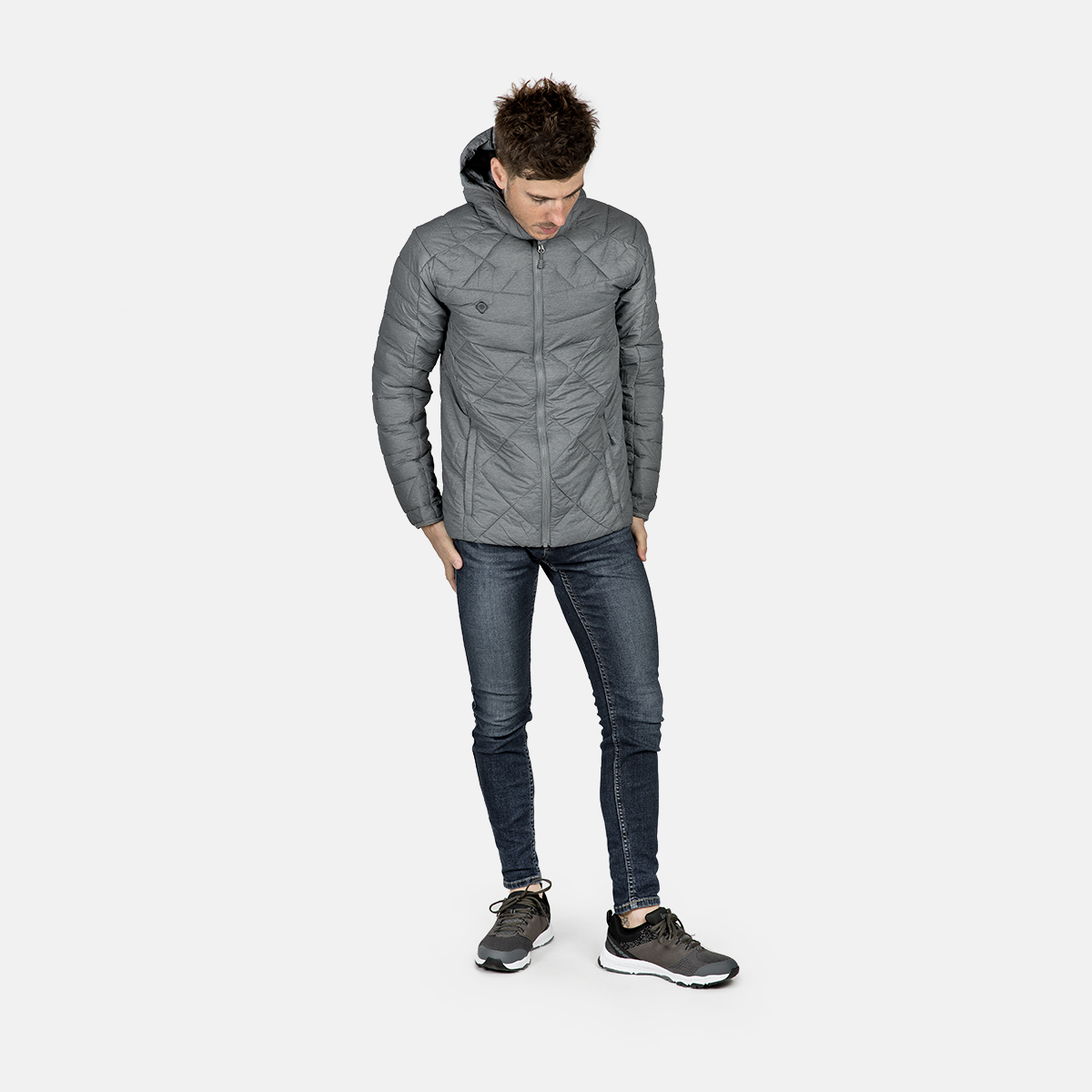 MAN'S ANDES PADDED JACKET GREY