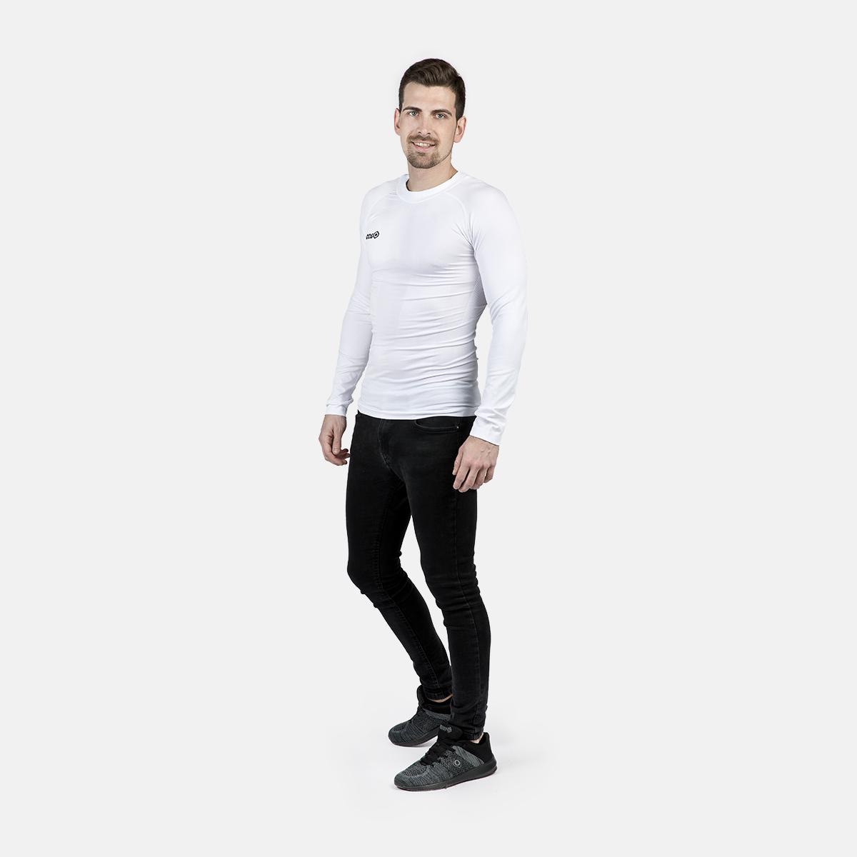 UNISEX'S SAREK THERMAL T-SHIRT WHITE