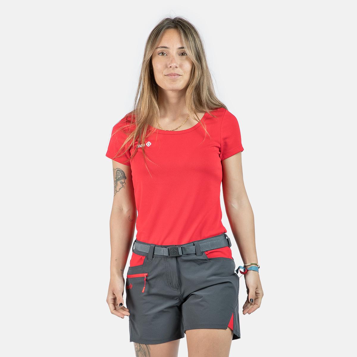 WOMAN'S ADAIA II T-SHIRT RED