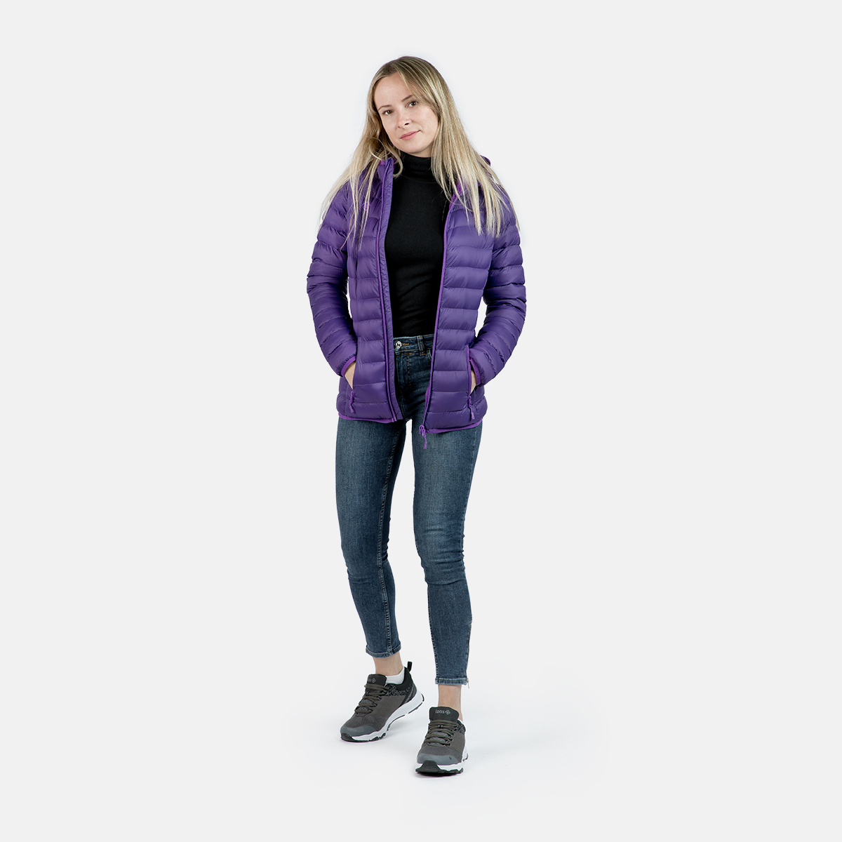 WOMAN'S AILAMA MOUNT-LOFT PADDED PURPLE