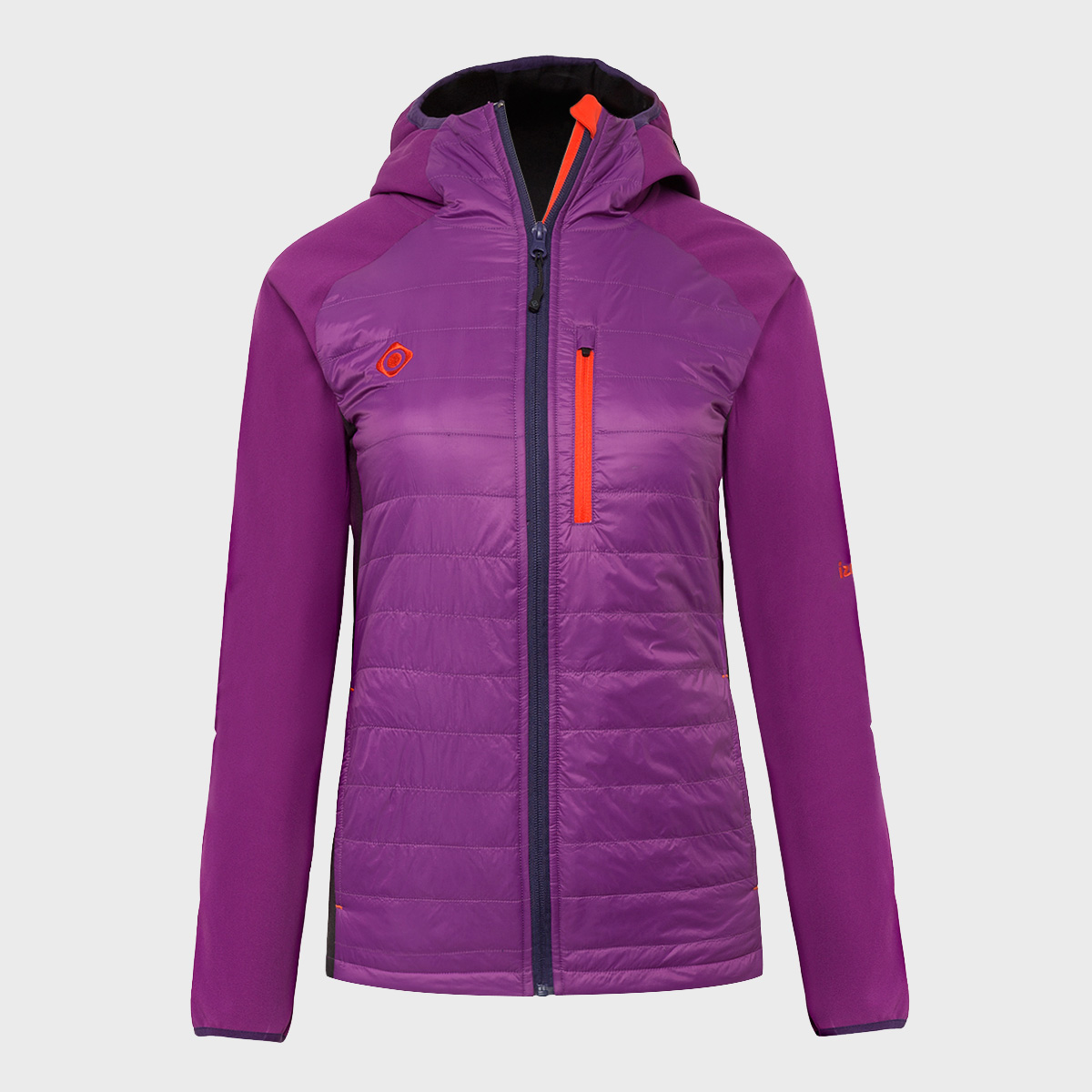 WOMAN'S ABIERI SOFT SHELL+PADDED PURPLE