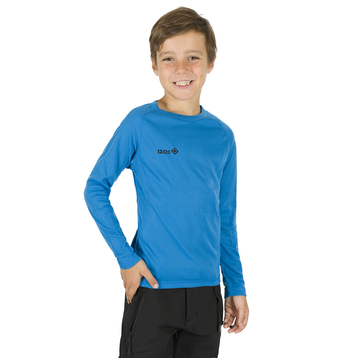 NELION KIDS THERMAL T-SHIRT BLUE