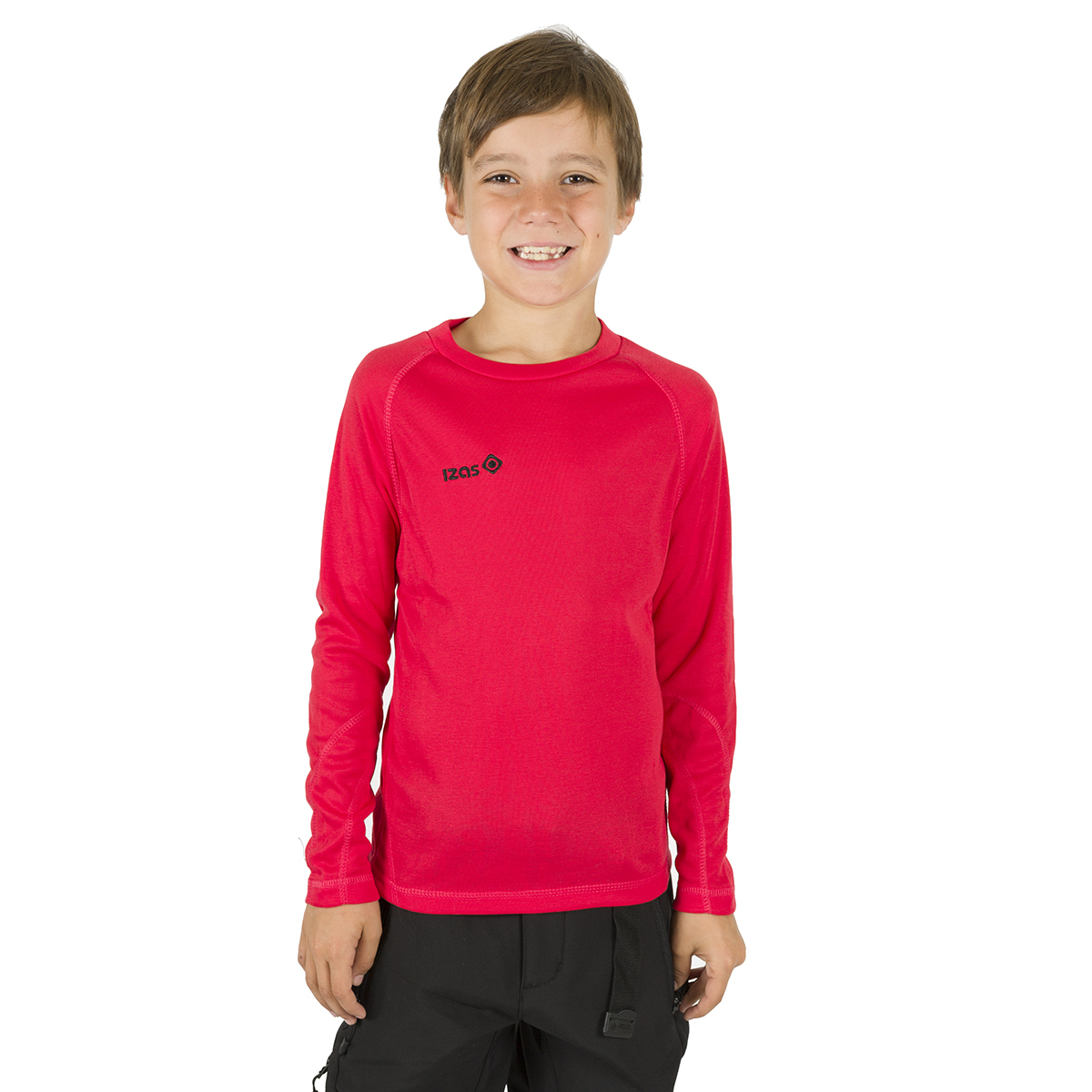 NELION KIDS THERMAL T-SHIRT RED