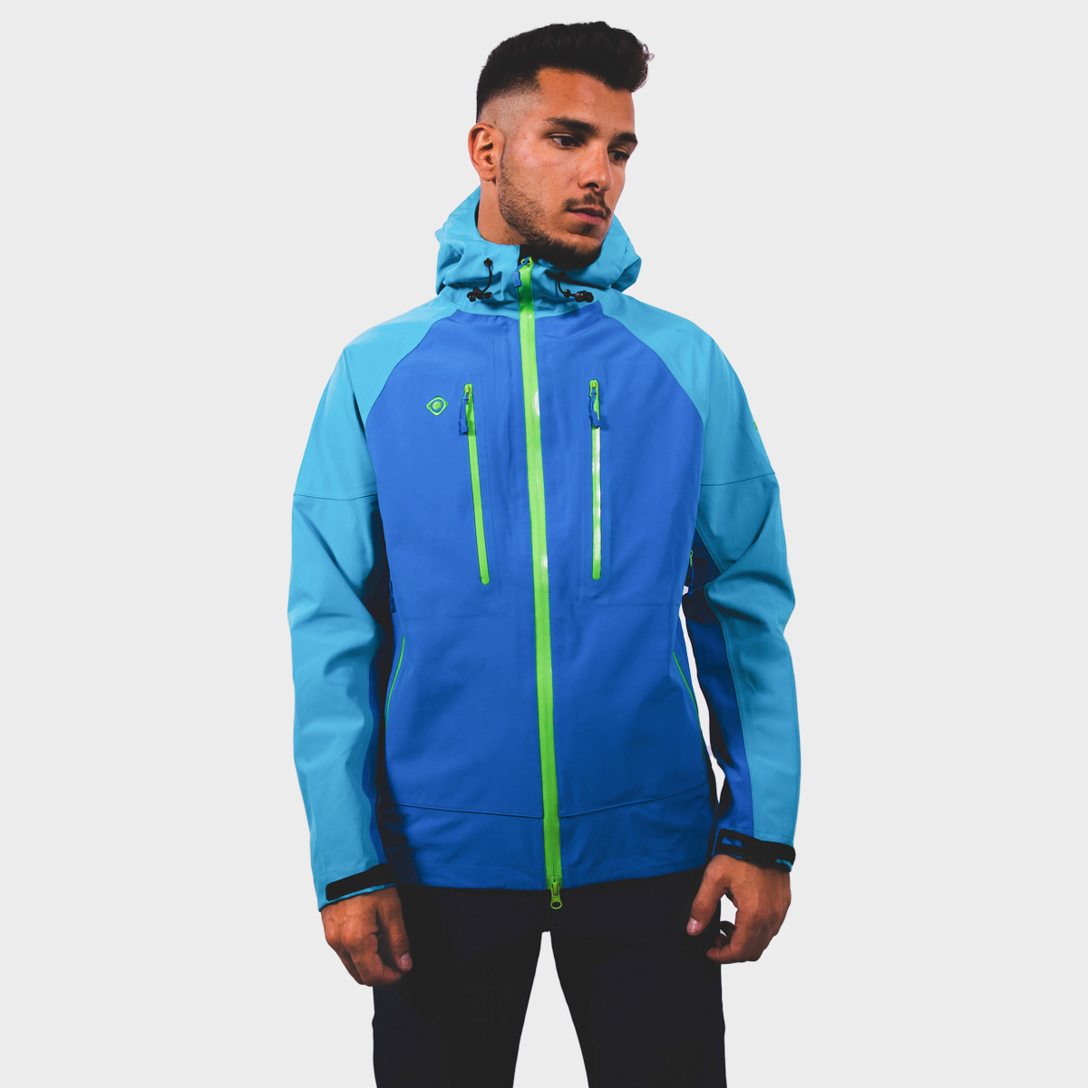MAN'S CAVOUR SHELL JACKET BLUE