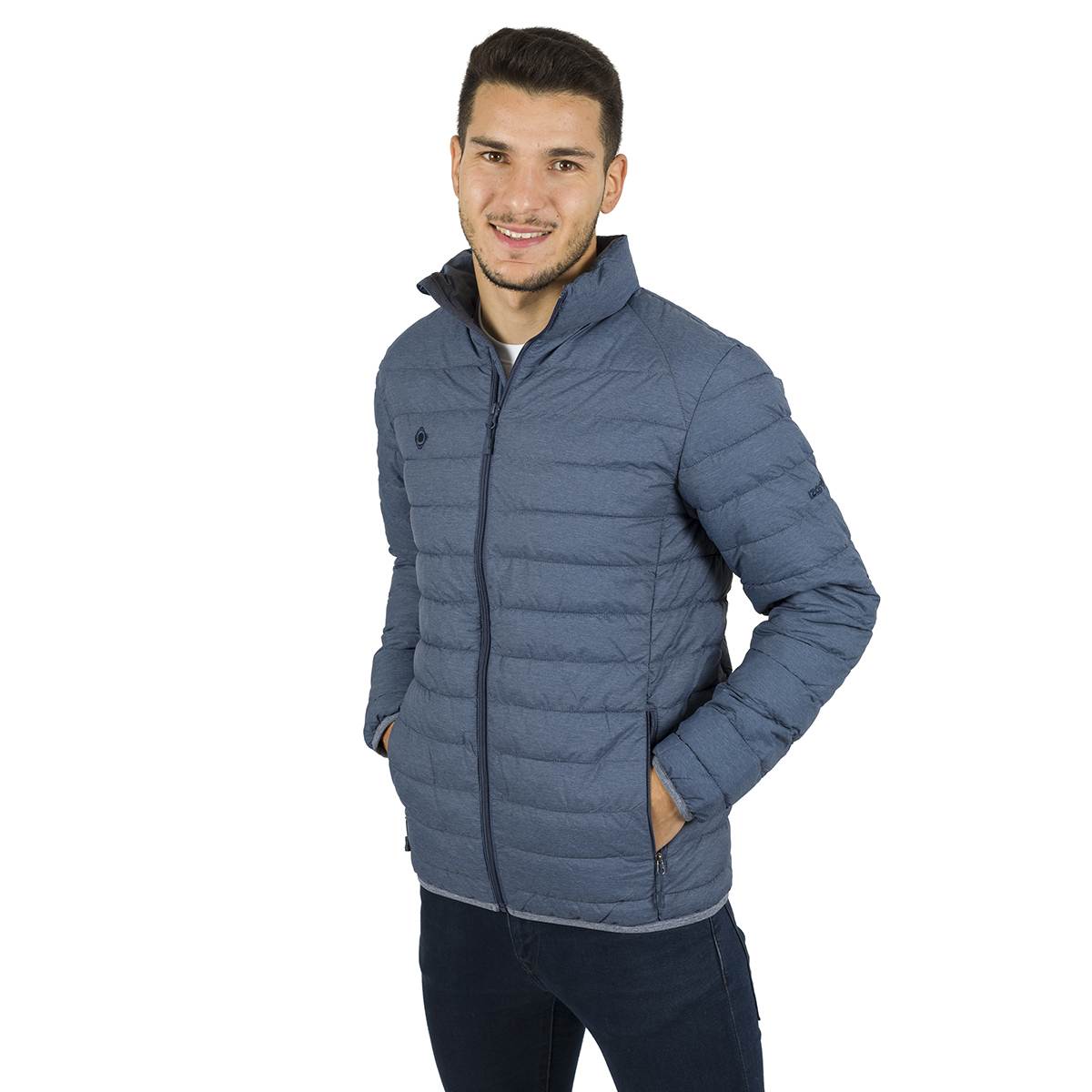 MAN'S MERSEY PADDED JACKET BLUE