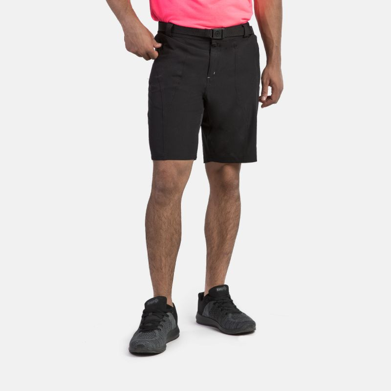 MAN SHORT PANTS TREKKING BEAR II BLACK