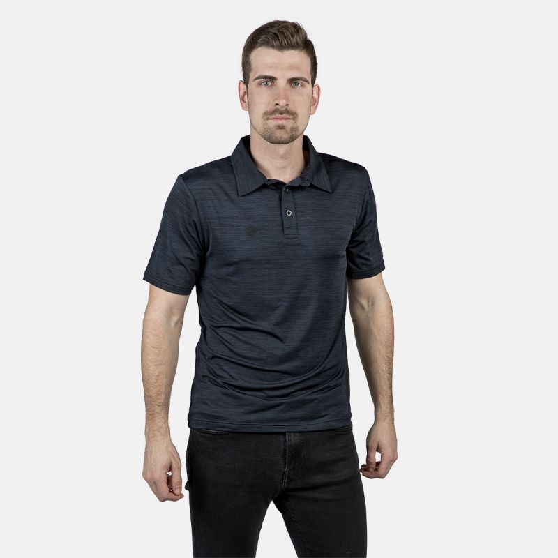 MAN BLUE POLO CHASE DARK