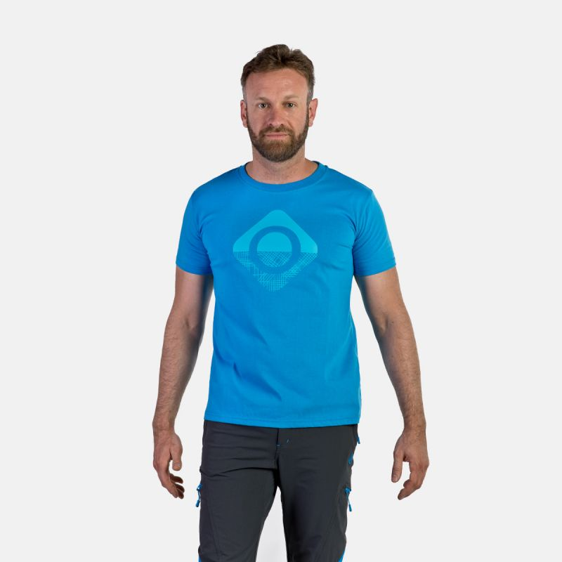 MAN T-SHIRT GRANBY BLUE