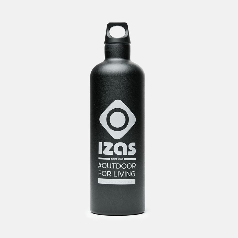 THERMAL BOTTLE 0,7L STAINLESS STEEL BLACK WHITBY THERMIC