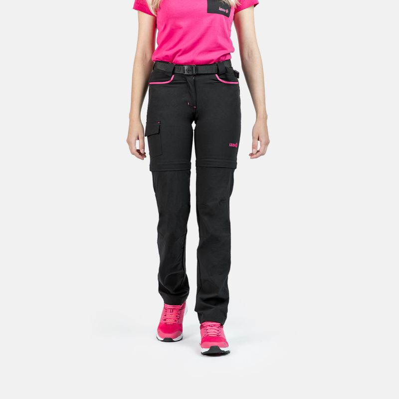 WOMAN TREKKING PANTS MAUNA II BLACK