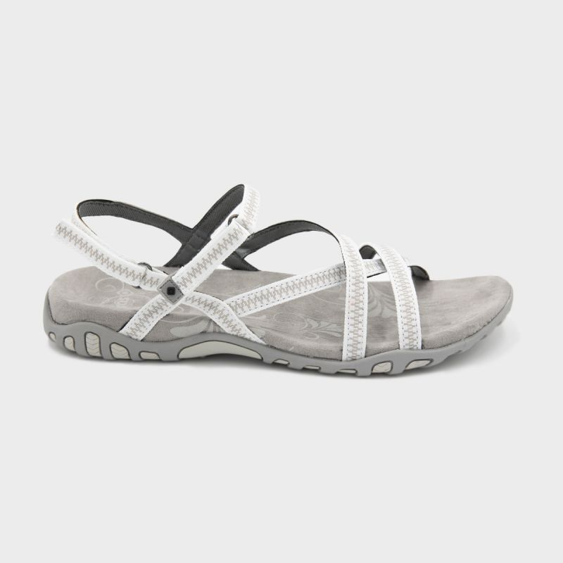 WOMAN'S TENA SANDALS WHITE