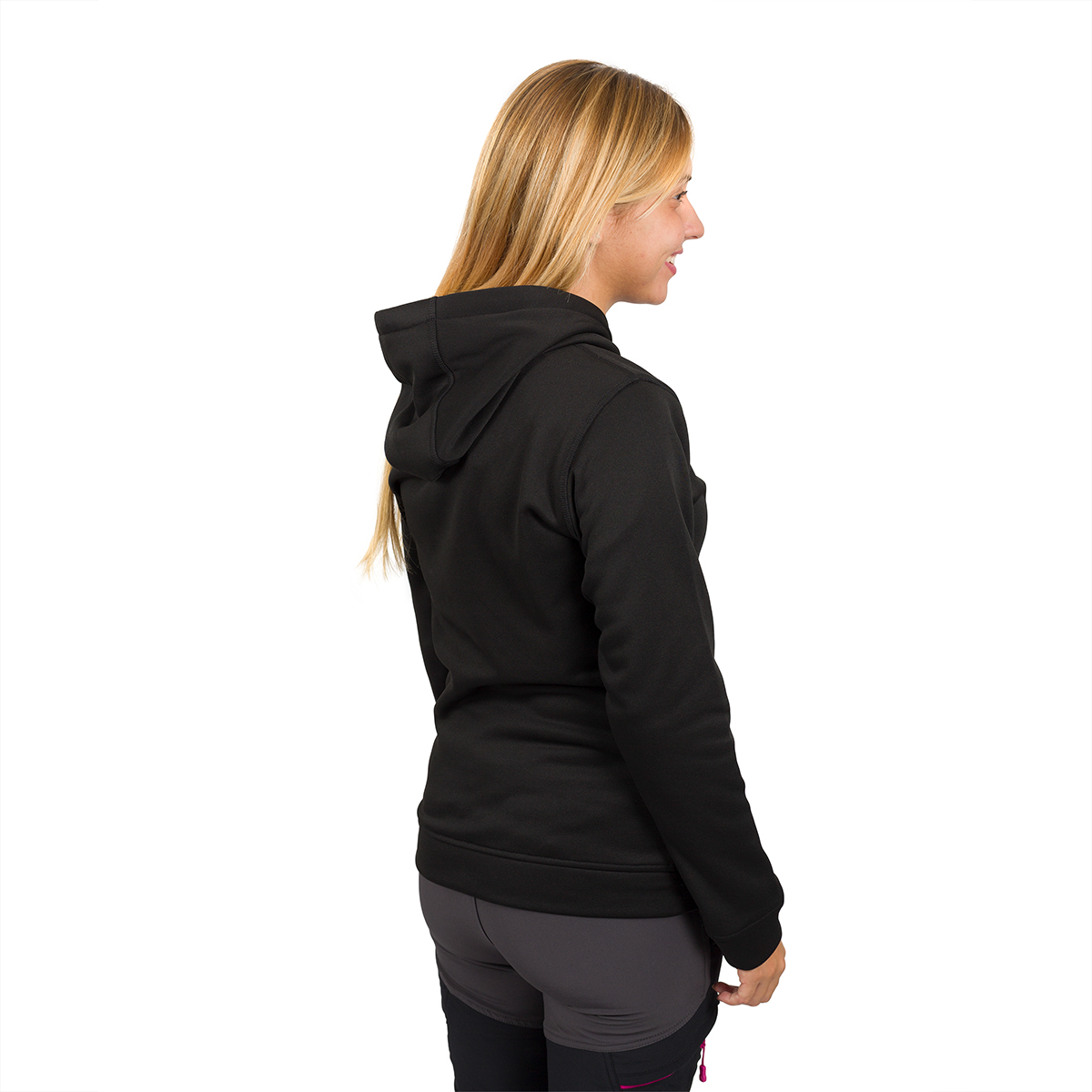 WOMAN'S DESSYE HOODED PULLOVER BLACK