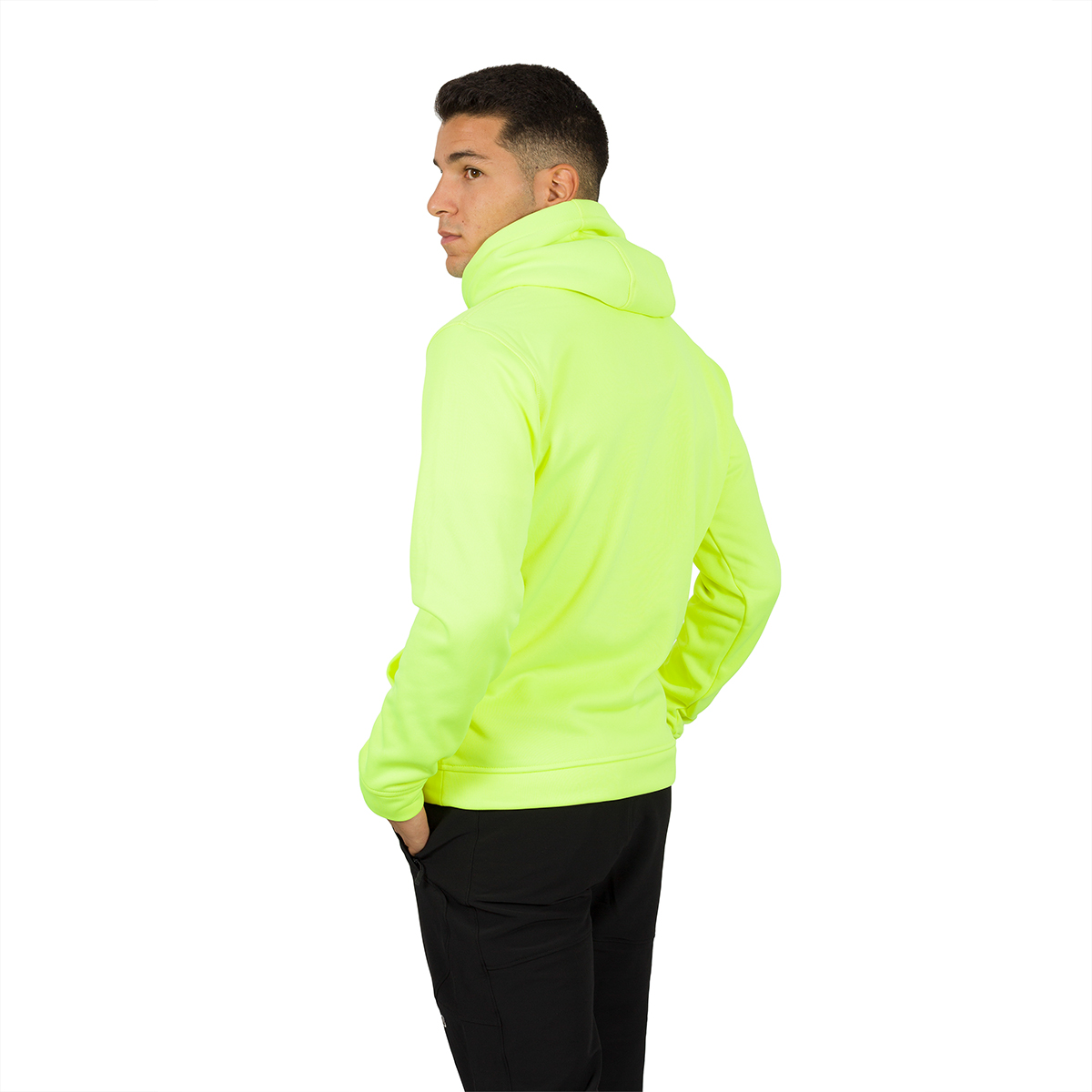 MAN'S DUERO HOODED PULLOVER YELLOW