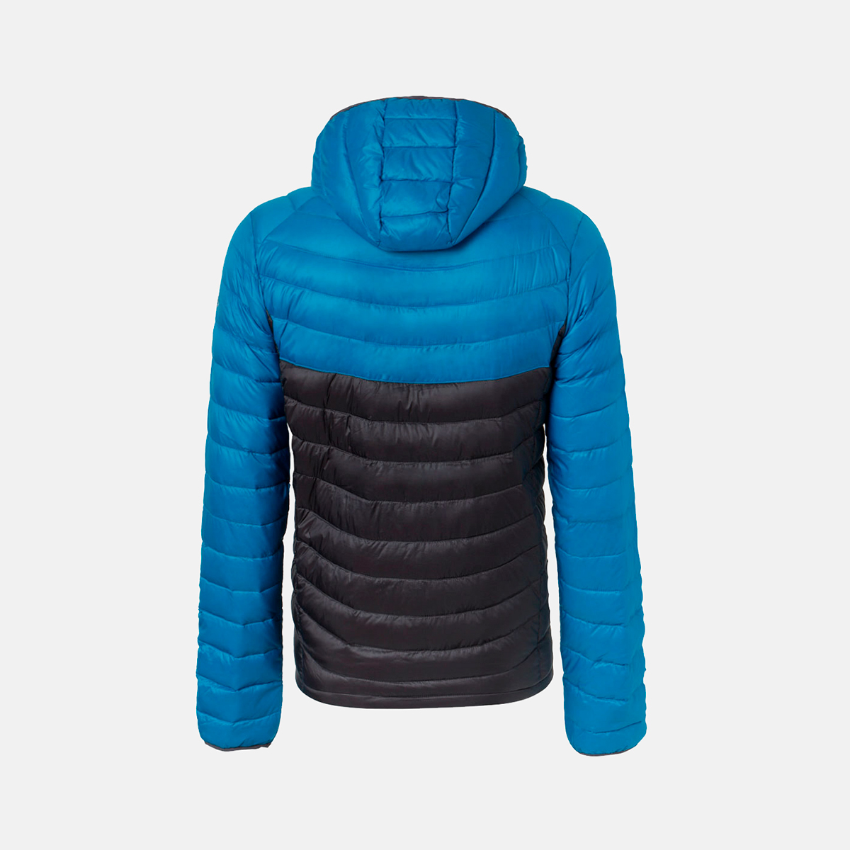 MAN'S ALSEK DOWN JACKET WITH HOOD BLUE