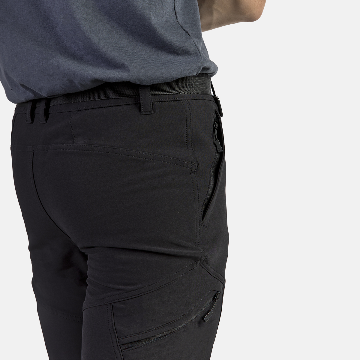 MAN'S BALTIC STRETCH PANT BLACK