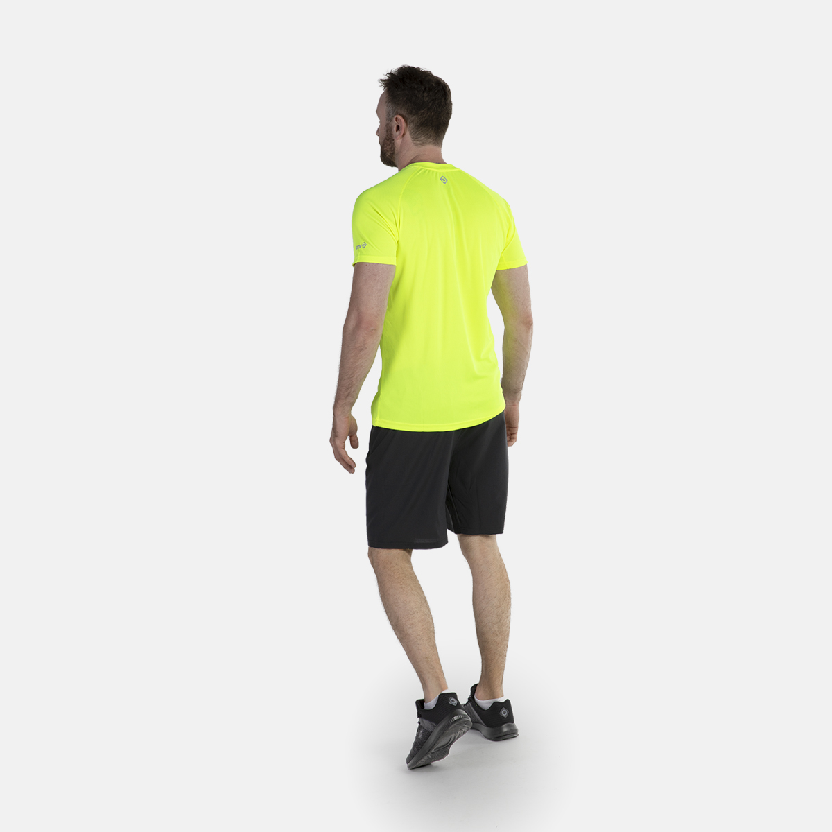 MAN'S DUFOUR RUNNING SHORT BLACK