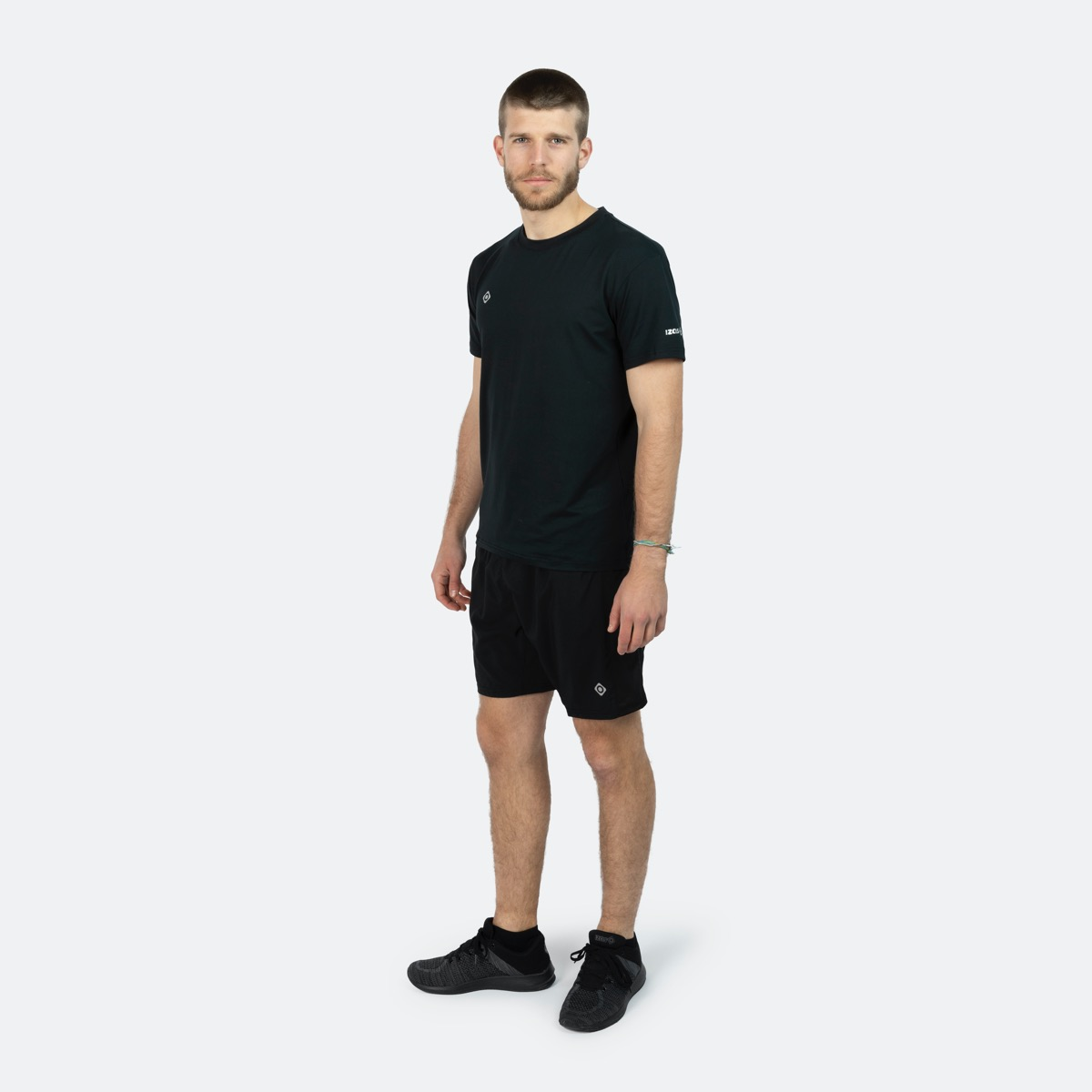 MAN'S ANYOX SHORT SLEEVE T-SHIRT BLACK