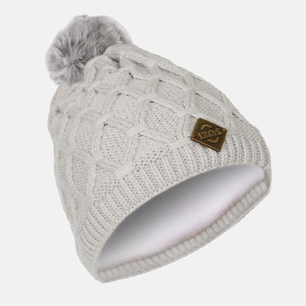 WOMAN'S MACAO BEANIE GREY