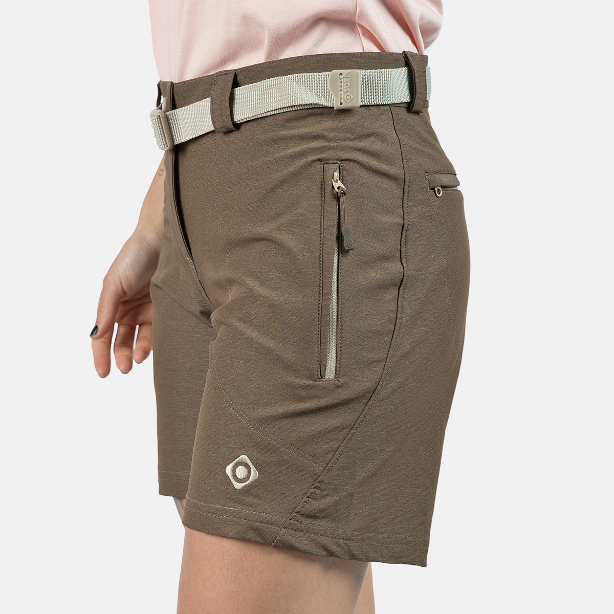 WOMAN'S BUBAL SHORT BROWN