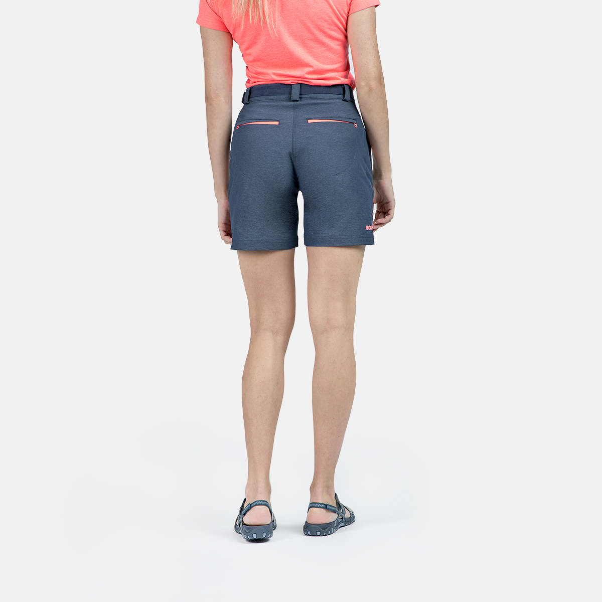 WOMAN'S BUBAL SHORT BLUE