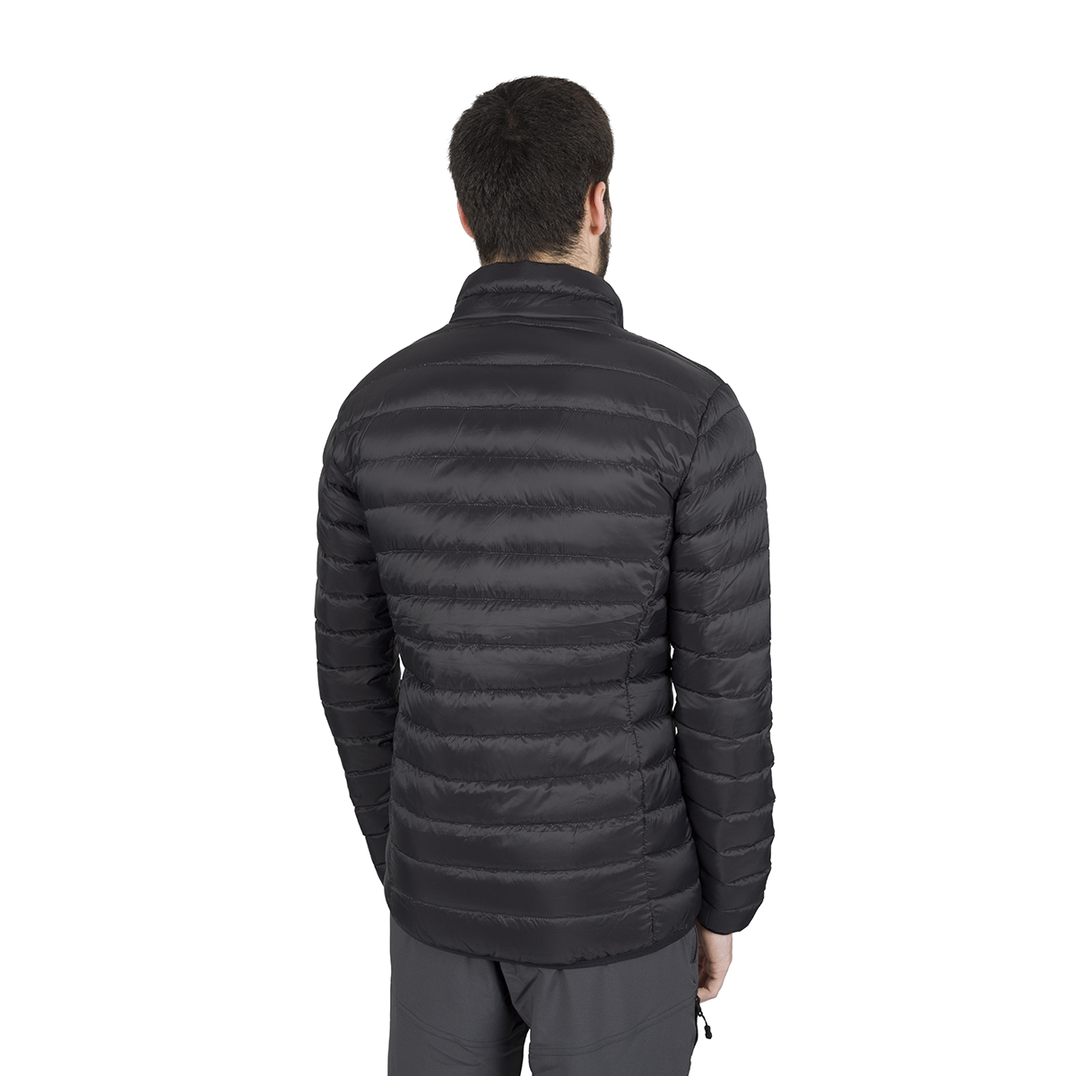 MAN'S KIEL DOWN JACKET BLACK