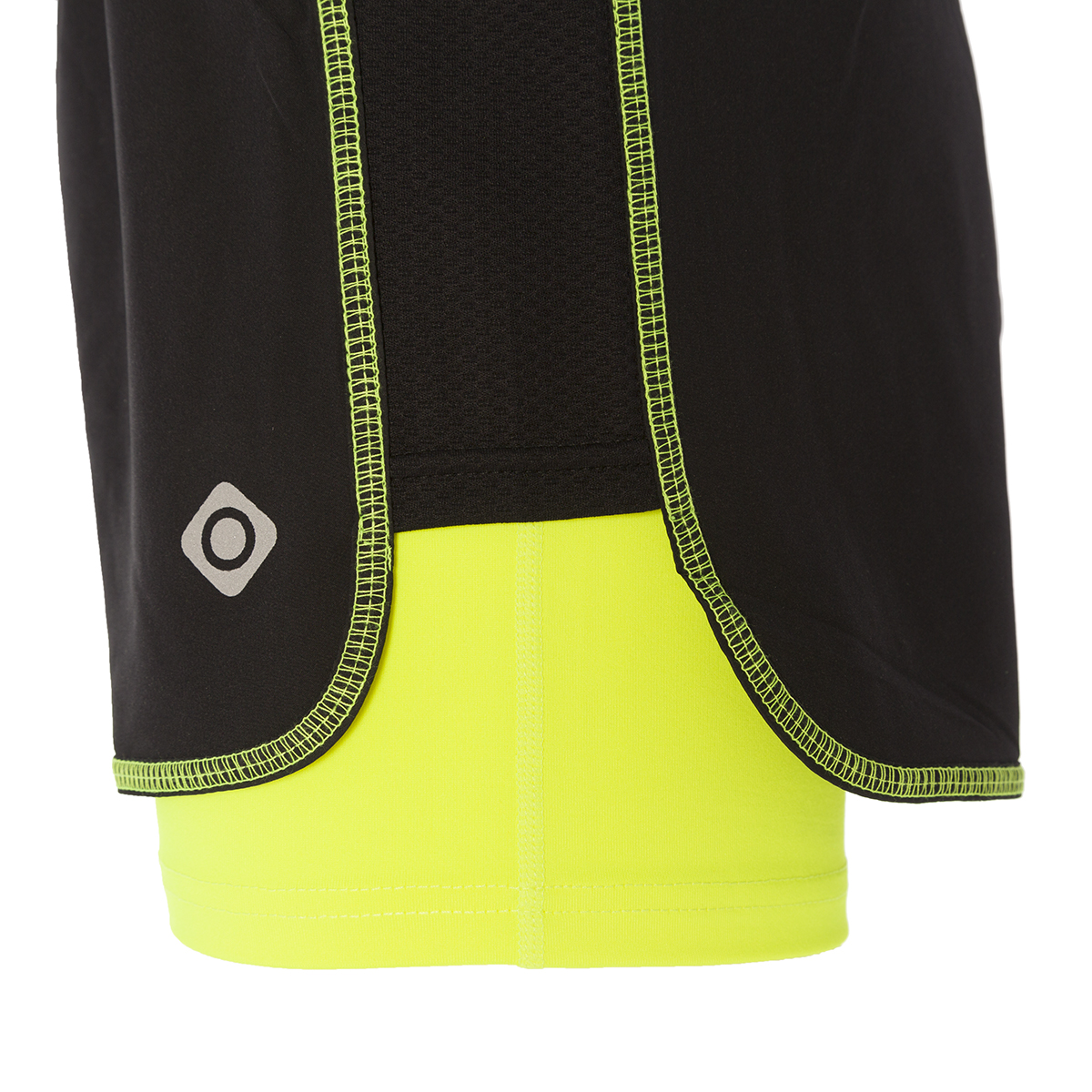 WOMAN'S NAO RUNNING SHORT BLACK