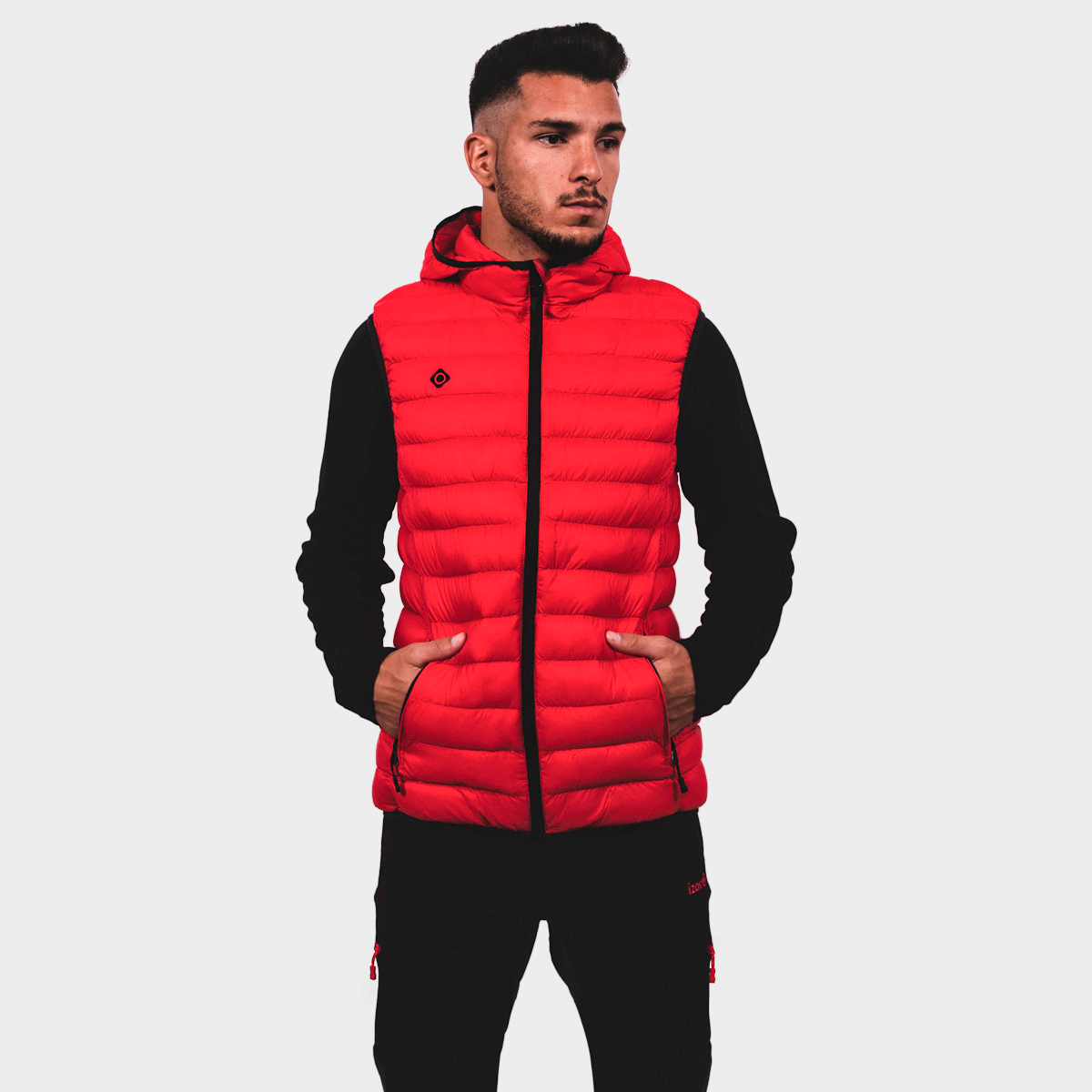 MAN'S ORTIL PADDED JACKET RED
