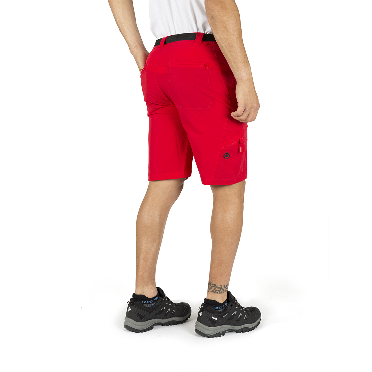 MAN'S PEAK STRETCH SHORT PANT RED