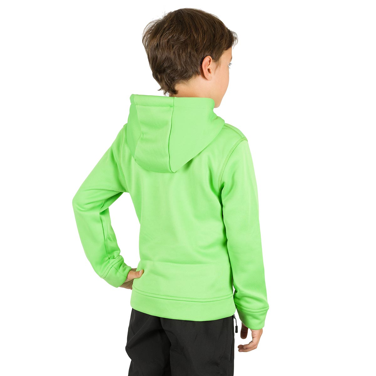 DUERO KIDS HOODED PULLOVER GREEN